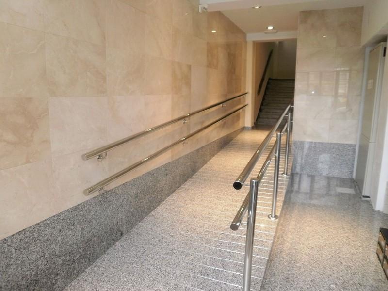 ascensores portales y cajas de escalera
